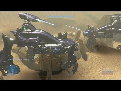 Halo 3 - Scarab Assault Concept & Prototype