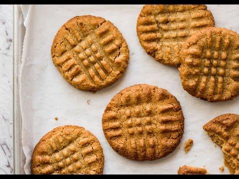 Incredible 3 Ingredient Peanut Butter Cookies