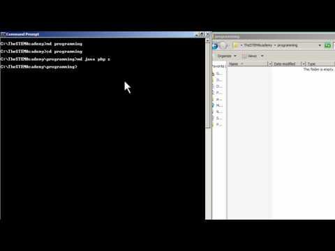 Windows CLI: Make Directories/Folders