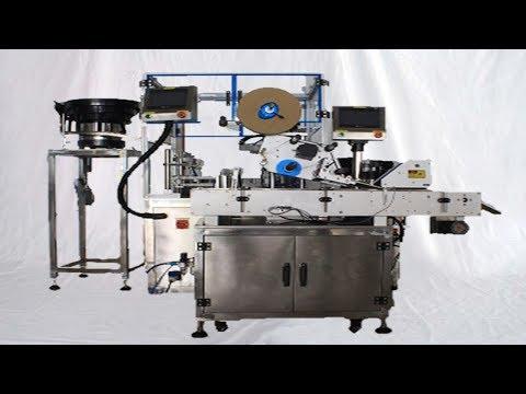 E-cigar oil filling machine rotary 10ml bottles bottling line for USA Seattle Customers 出口美國煙油灌裝線