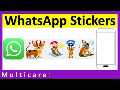How to send stickers on whatsapp | Sticker option not available in whatsapp