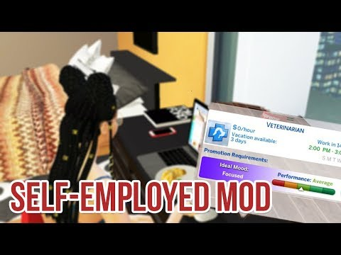 SELF-EMPLOYMENT CAREER MOD | The Sims 4 Mods
