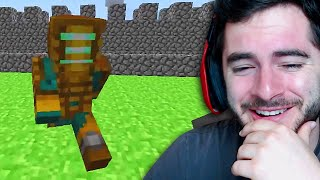 Reacting to my First Minecraft Video