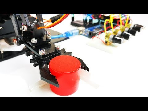 Make a Programmable Robot Arm | Arduino Project