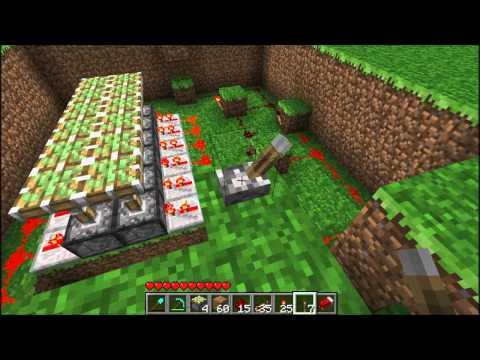 Minecraft - Hidden Bridge Tutorial For Lava and Water
