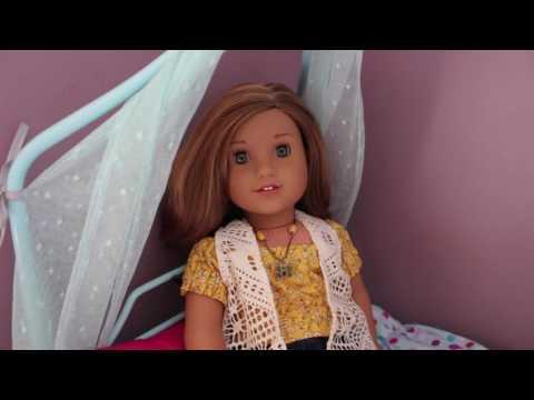 American Girl Doll Lea Clark's Bedroom!