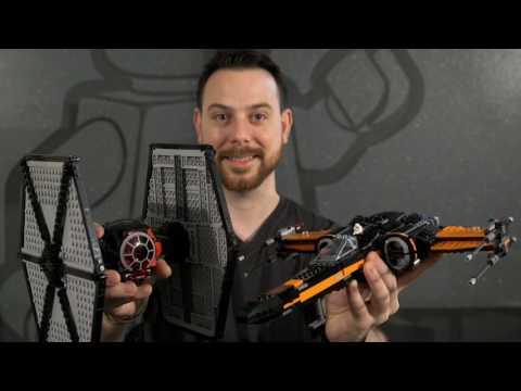 TIE Fighter X Freemaker Ugly Designer - LEGO Star Wars - Designer Video