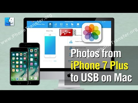 How to Transfer Photos from iPhone 7 Plus to USB on Mac, Backup Photos to USB Disk