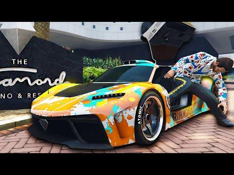 Xxx Mp4 I Drove The Most Expensive Car To The Casino GTA Online Casino DLC 3gp Sex