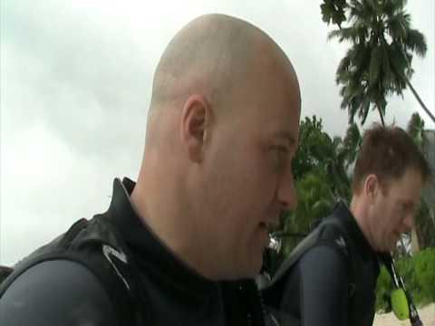 Scuba diving in Seychelles Islands