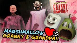 Marshmallow Loves Granny and Grandpa!!! | Granny Chapter 2