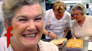 Gordon Faces Off Against His Own Mother In A Cook Off! | The F Word