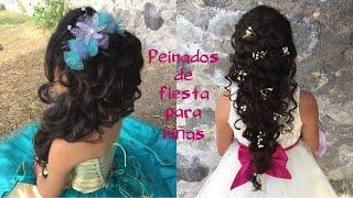 Peinados de fiesta Para Niñas ( presentación )