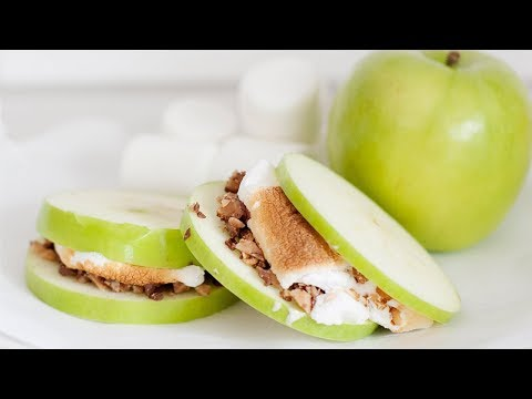 Apple Pie S'mores | Keep Apples From Browning