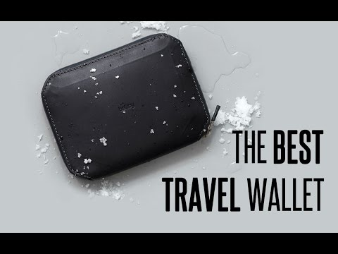 THE BEST TRAVEL WALLET !!! Bellroy Elements