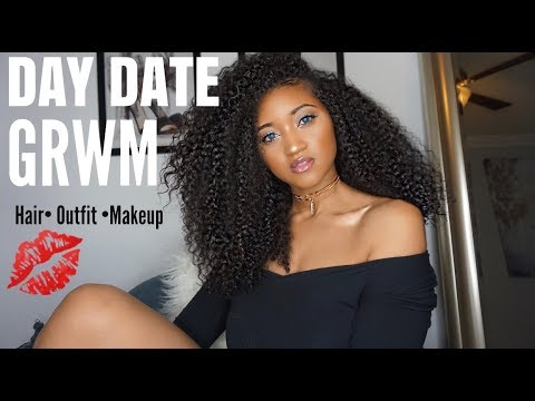 GRWM Day Date With My Fiance | Hair + Makeup + Outfit | Victoria Victoria
