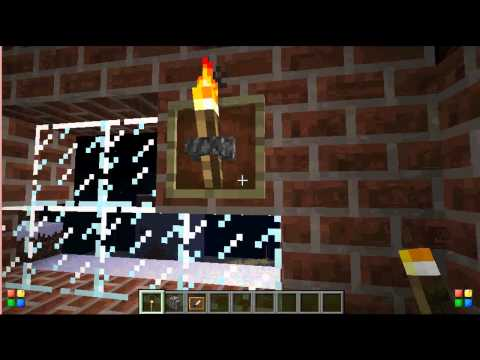 Minecraft:how to make a wall torch