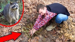 Primitive Survival Trapping! *DO NOT TRY AT HOME*