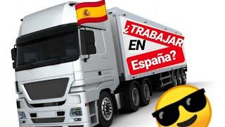 🇪🇸Como Trabajar En España 🚛Conductor De Camión Sueldo Fijo? Por Kilometraje? Tipo de contrato 📋