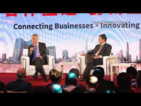 Q19: On cross-straits and east-west relations  (DBS Asian Insights Conference 2018)