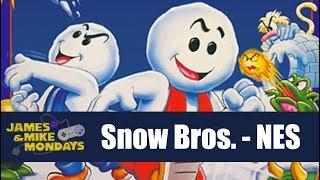 Snow Bros. (NES) James & Mike Mondays