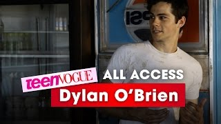 Go Behind the Scenes with Dylan O'Brien at His Teen Vogue Photo Shoot – All Access