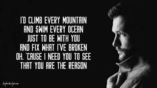 You Are The Reason - Calum Scott (Lyrics)
