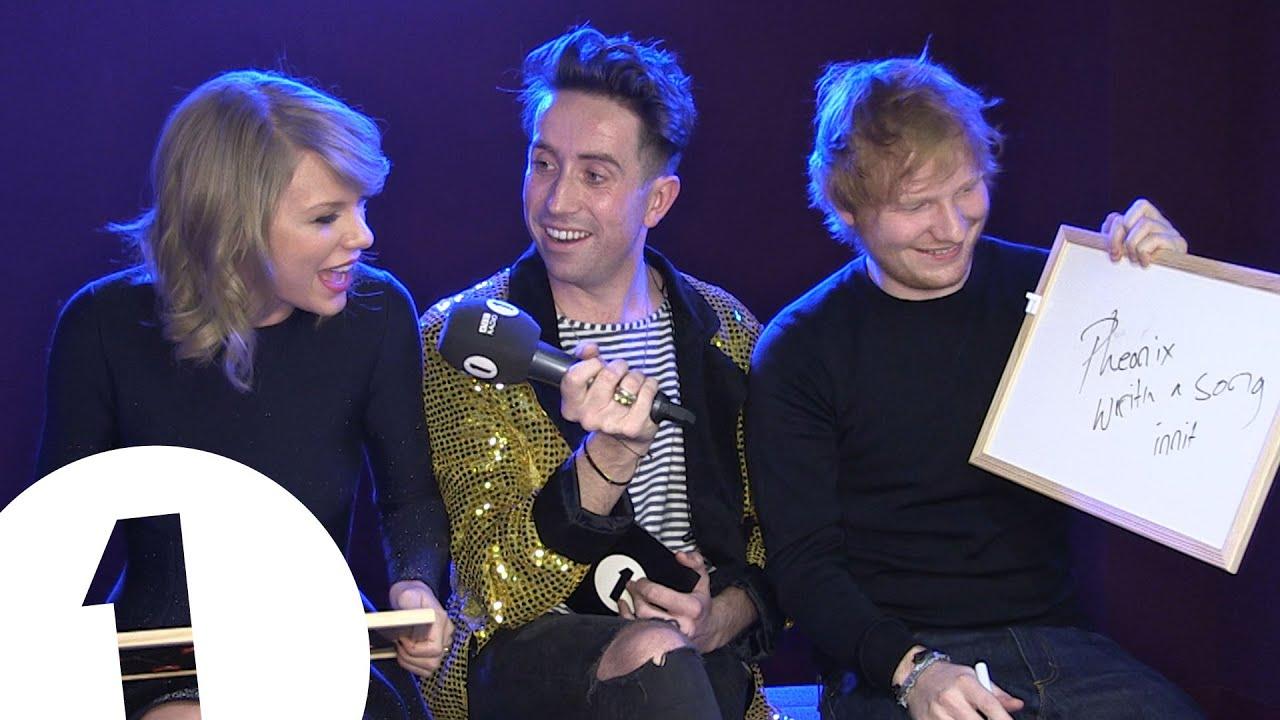 Ed Sheeran and Taylor Swift play Eds or Taylz?