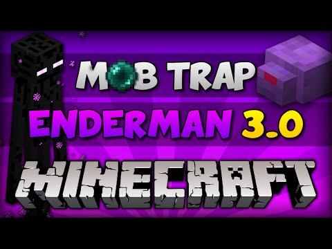 ✔ Minecraft: A MELHOR FARM DE ENDERMAN! // XP & PÉROLAS // MobTrap [ Tutorial PC e PE ]