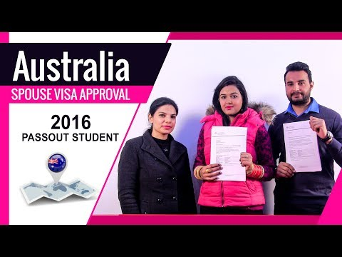 Australia Spouse Visa Approval - 2016 Passout