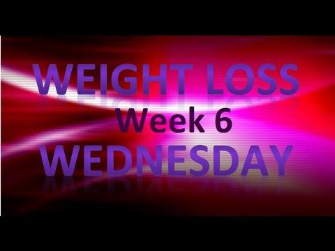 Weight loss Wednesday week 6 recap with weightwatchers