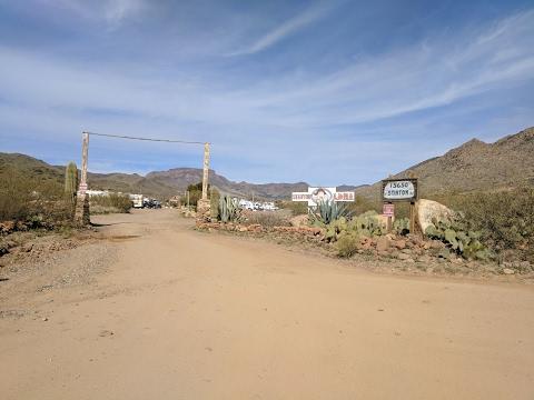 Stanton Arizona LDMA Camp Drone Footage