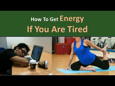 How to get Energy if you are Tired|Enter into a yoga pose