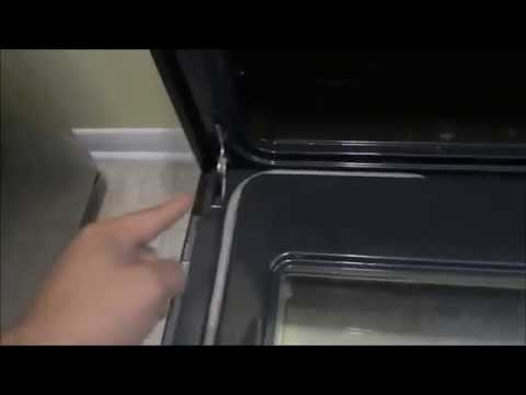 How To Remove The Oven Door On A Frigidaire Electric Stove (Useful For Cleaning)