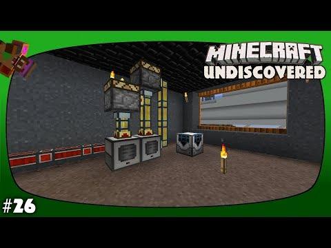 Minecraft Undiscovered Episode 26 - Mob Duplicator and Destabilized Redstone Ore Farm