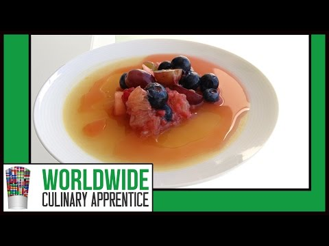How to Make Fruit Coulis - Fruit Purée - Strawberry Syrup - How to Recipe - Pastry Class