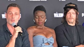 The Walking Dead #SDCC press conference (2018)