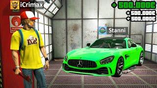 Ich TUNE YouTube AUTOS in GTA 5 RP!