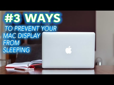 How to prevent your mac from sleeping