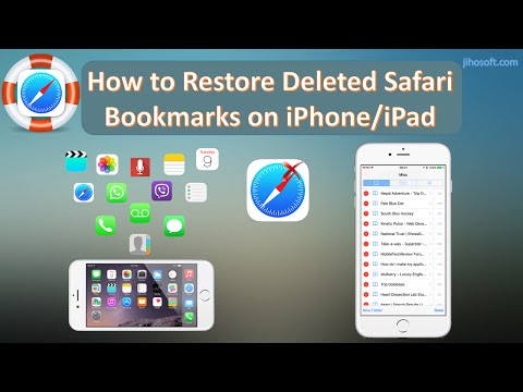 Two Best Ways to Restore Deleted Safari Bookmarks on iPhone