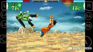 GBA emulator: Dragon Ball Z super sonic warriors Cell's story: The Cell games+ending