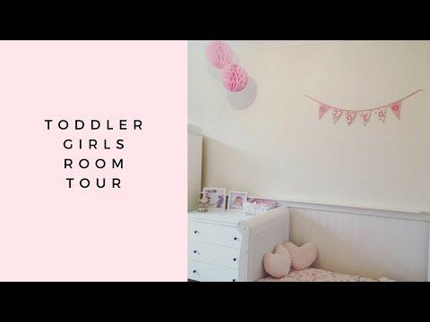 TODDLER GIRLS NURSERY / ROOM TOUR | KIDS ROOM DECOR IDEAS | HOME RENOVATION | INTERIOR