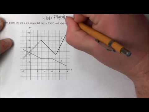 Power Rule and Chain Rule -  Larson Calculus - Section 3.3 and 3.4 Sample Exercises