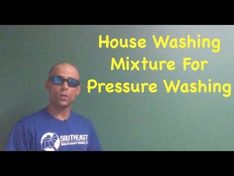 House Washing Mixture For Pressure Washing | Pressure Washer TV