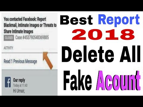Best Report 2018 All Fake Acount Delete On Facebook 100% Working In Urdu & Link 4 Dic [Guru 4 You]