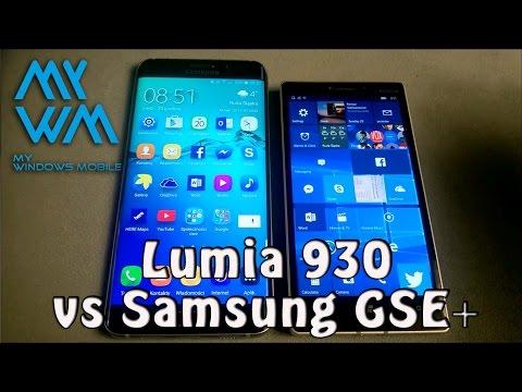 Nokia Lumia 930 vs Samsung Galaxy S6 Edge +