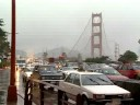 San Francisco Traffic in the Rain