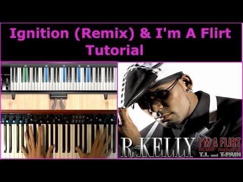 R. Kelly | Ignition (Remix) & I'm A Flirt | Piano Tutorial