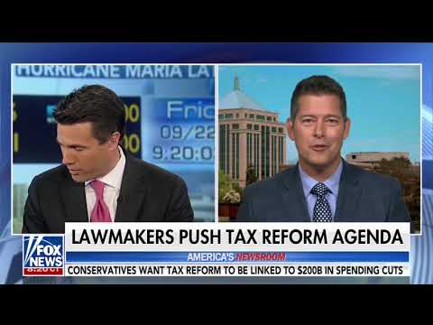 Sean Duffy talking Tax Reform on America's Newsroom