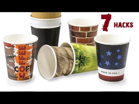 7 Creative Life Hacks using Paper Cups [Best Tricks]